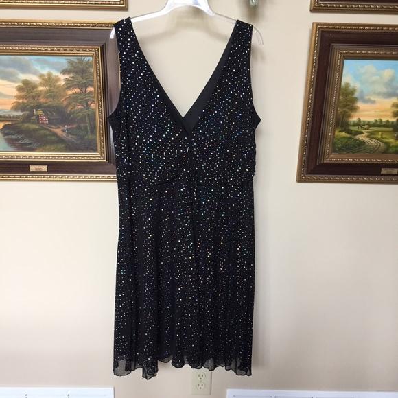 Forever Dresses & Skirts - ❌SOLD❌ FOREVER Sleeveless Netted Sparkle Dress 2X